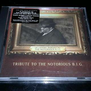 TRIBUTE TO THE NOTORIOUS BIG CD (5-TRACKS CD)