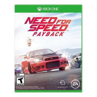 Need For Speed payback (Xbox)