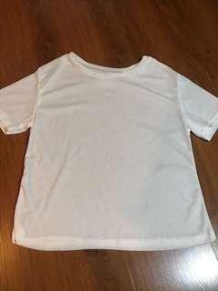New Plain White Shirt
