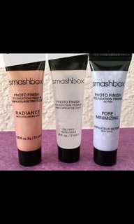 Sale bundle of 3 smashbox primers