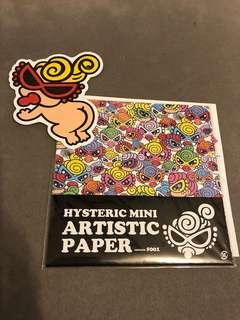 HYSTERIC MINI-Artistic paper