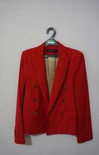 Blazer Zara woman / Red blazer zara original