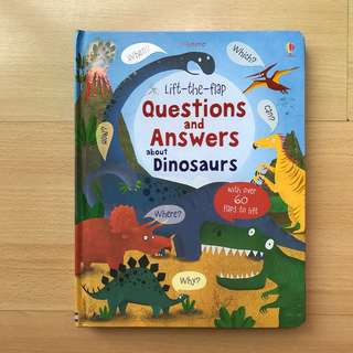 Usborne Lift the Flap Q&A - Dinosaurs