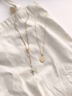 St. Benedict Rosary and Our lady of Perpetual Medallion