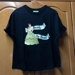 b+ab Disney Belle 貝兒 Beauty and the beast tee