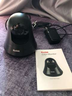 Kodak Wireless IP Cam CFH-V15 99% new (Free 1 day cloud storage)