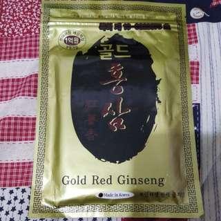 黃金紅蔘韓方止痛舒緩貼布