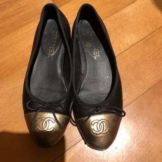 Chanelclassic Flat Shoes 羊仔皮