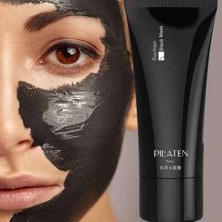 Pilaten sunction black mask