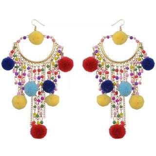 Tassel Bead Earrings