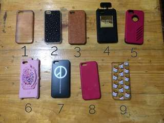 Iphone 5/5s/SE case (4 cases for P165)