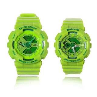 Couple watch G-Shock+Baby G