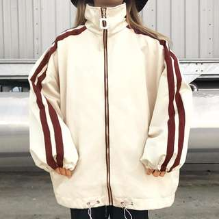 unisex oversized windbreaker