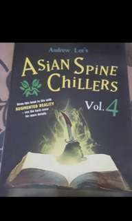 Popular Horror Book. Asian Spine Chillers
