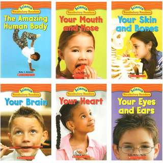 Scholastic Science Vocabulary Readers: Human Body (6 books)