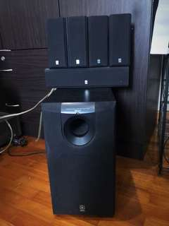 LAST CALL! URGENT MUST GO! Yamaha Subwoofer & Surround Speakers