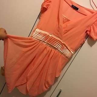 🚚 全新🌟桃色洋裝小禮服
