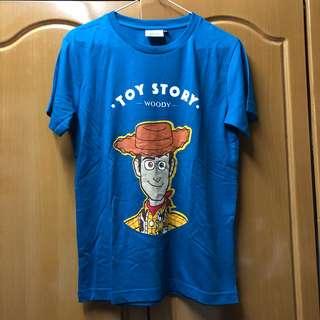 Disney toy story 反斗奇兵 Woody Tee