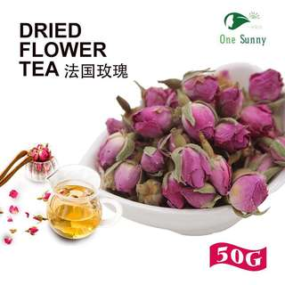 🚚 Dried Flower Tea - French Rose(紫玫瑰)50g【FREE SINGAPORE MAIL 】