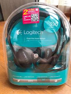 Good deal! Logitech H390 USB Stereo Headset