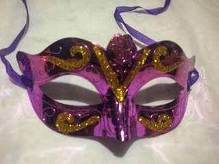 Simple Metallic Masquerade Mask