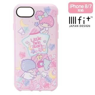 Sanrio 日本正版 Little Twin Stars 雙子星 iphone8/7 手機殼 軟殼 (IIIIfi+)