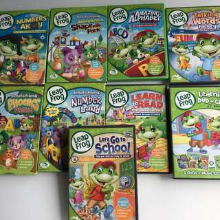 LeapFrog Educational DVDs