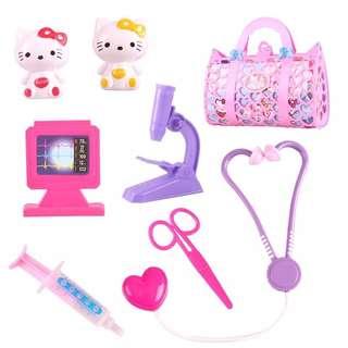 醫生玩具套裝 女孩兒童工具箱 過家家益智男孩仿真聽診器打針