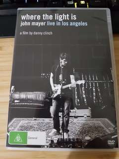 John Mayer Live DVD Where The Light Is