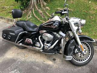 FLHR Road King  registered March 2013
