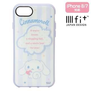 Sanrio 日本正版 Cinnamoroll 玉桂狗 iphone8/7 手機殼 軟殼 (IIIIfi+)