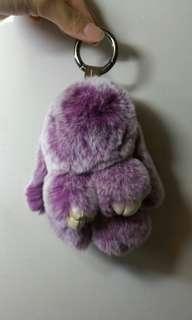 🚚 Kopenhagen fur bunny keychain