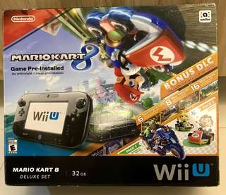 NEAR NEW, pre-loved Wii U (Mario Kart 8 - Deluxe Set)