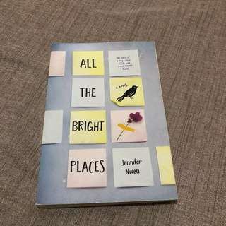 All The Bright Places by Jennifer Niven (Soft bound)