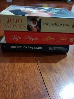 1. Me before you  2. Me after you  3. The Girl on The Train