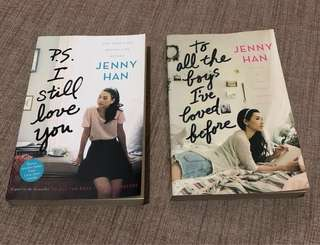 To All The Boys I've Loved Before and P.S. I Still Love You by Jenny Han (Soft bound)