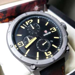 Expedition watch E6388M
