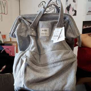 Anello Light Gray Backpack (100% Original)