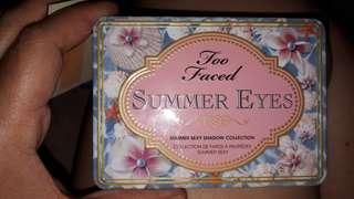 Too faced summer eyes