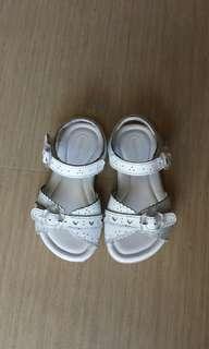 Stride rite white sandals