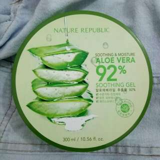 Nature Republic Soothing Gel Aloe Vera 92%