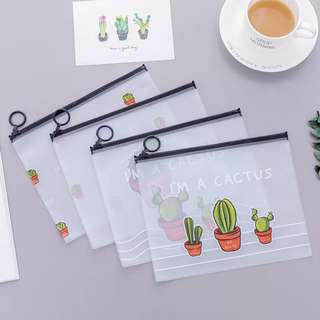 Cactus Pencil Case/Pouch
