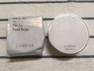 🚚 Laneige BB Cushion (SPF50+ PA+++) No.23 Sand Beige