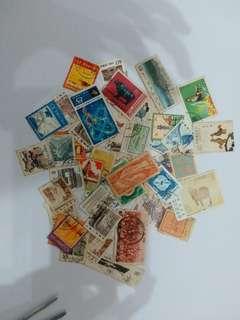中國,台灣舊郵票