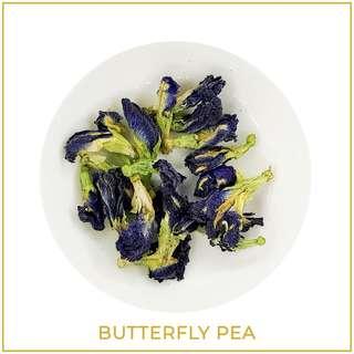Butterfly pea blue ternate tea