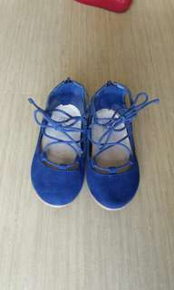 Zara baby lace-up shoes