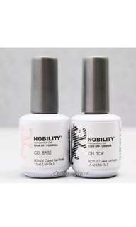 Nobility Gel Top And Base Coat