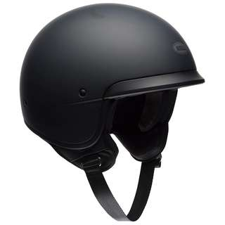 Bell Scout Air SIZE MEDIUM ONLY Cruiser Adult Motorbike Motorcycle Cafe Racer Helmet Solid Matte Black Half Face Helmet