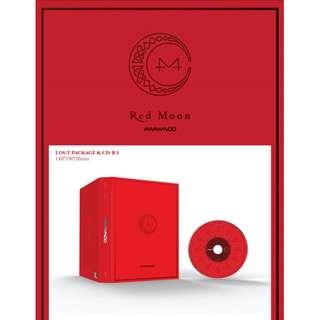[PREORDER] MAMAMOO (마마무) - 미니7집 RED MOON
