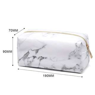 🚚 Marble Make up pouch